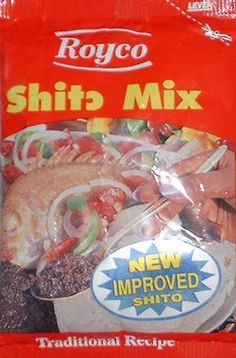 This is the TRADITIONAL recipe for shito.