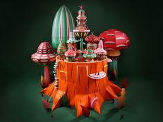"Zim & Zou project for Hermes Store: ""Forest Folks"" https://www.behance.net/gallery/47496809/Forest-Folks"