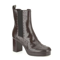 Dixie Boots Dark Brown by Orla Kiely and Clarks
