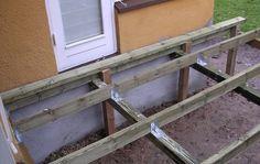 Du kan selv bygge en træterrasse. Få gode råd om terrassebrædder og at det, du skal være opmærksom på, før du går i gang. Se også, hvordan du bygger træterrassen trin for trin.