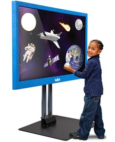 Interactive Display & TeachSmart Software by Hatch. Research-based software with 1,100 scaffolded activities that have shown to improve a child's school readiness in literacy and math.