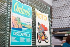 ONTARIO - A Checklist of Things To Be Discovered! print at Kid Icarus, Toronto