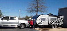 CampLite owners ready to hit the road.