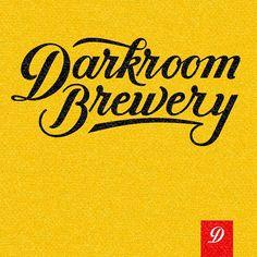 Cropped shot of Darkroom Brewery biz card Alex Nassour