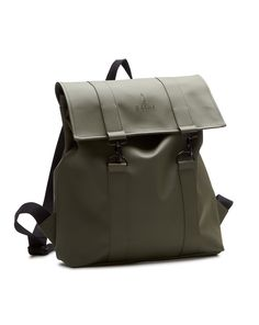 Msn Water-Resistant Khaki Rucksack - RAINS - Backpacks RAINS for men, All Mens Fashion and Clothing is available to buy on Menlook.com - Over 250 brands to discover
