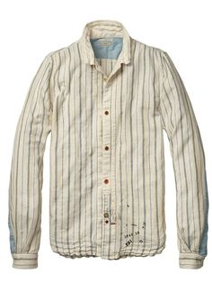 Vintage long-sleeved shirt in Japanese cotton - Scotch and Soda