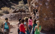 """""""Maybe it's something we were all hungering for—we just didn't realize it."""" See why women's-specific events can make all the difference in your. Rock Climbing Training, Rock Climbing Workout, Rock Climbing Gear, Black Diamond Equipment, Bungee Jumping, Go Outdoors, Outdoor Woman, Get Outside, Rafting"""