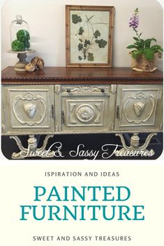 Be inspired by some of my favorite furniture transformations for shabby chic and french country styles of  decor. Blend paint for beautiful painted furniture finishes that anyone can do.