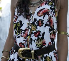 Fire Me Down Floral Maxi   12th Tribe