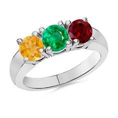 Angara Twist Shank Citrine Ring in White Gold GRSxp5b