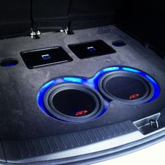 Custom install for our cool rep Tim from Alpine in his CX5 Mazda installed with PDX amplifiers and type r speakers double din head unit up front and rear roof screen