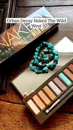 Urban Decay Eyeshadow, Eyeshadow Palette, Blue Eye Makeup, Lip Makeup, Desert Dream, School Makeup, Wild West, Natural Makeup, Color Inspiration