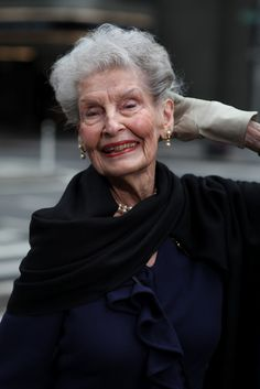 ADVANCED STYLE: Ruth- 100 years old. Born one year before the titanic sank.