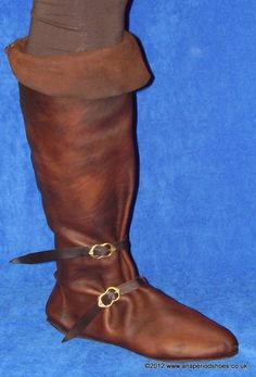 Knee Boot 14th + 15th century