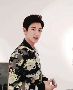 Animated gif discovered by Find images and videos about kpop, gif and exo on We Heart It - the app to get lost in what you love.