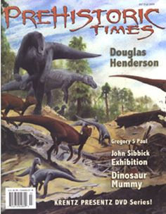 Prehistoric Times cover from Autumn 2008, issue 87 featuring Iguanodonts.