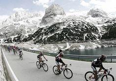 Giro de Italia.Dolomiti