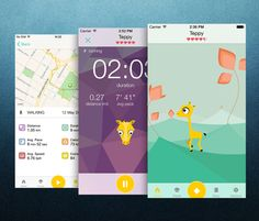 Tep Is An Adorable Fitness Tracking App That Works Like A Tamagotchi.