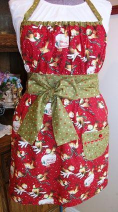 Cute Christmas Apron Pattern