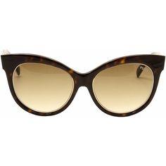 Joylot.com Emilio Pucci Women's EP0024 EP/0024 Fashion Cat Eye... ($220) ❤ liked on Polyvore featuring accessories, eyewear, sunglasses, emilio pucci, cat-eye glasses, cat eye sunglasses, emilio pucci sunglasses and cateye sunglasses