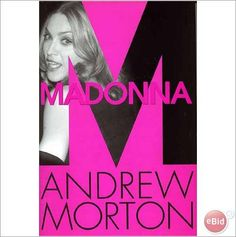 Madonna. Book Madonna biography by Andrew Moreton. Hard Back Book.