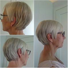 Hiustenleikkaus,  matalaporrastus sekä ehjä rakenne 6/2017 (asiakkaalla toive vähän kasvattaa pituutta, enemmän polkkatukkamainen malli. Pohjalla oli ulos mallista kasvanut korkea porrastus.)