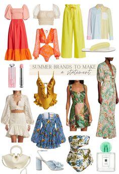9 Statement-Making Summer Brands Your Closet Needs @saks #SaksStyle #SaksParter @ShopStyle_Collective Hello Fashion Blog, Christine Andrew, Pretty Sandals, Nude Sandals, Flattering Dresses, Easter Dress, Sandals For Sale, Cute Bags, New Bag