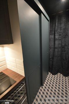 Appartement 30 m2 coeur de Paris, Parisd'intérieur - Côté Maison Tile Floor, Flooring, Studio