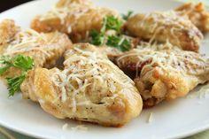 Garlic Parmesan Wings....Just like Wing Stop Wings ☺