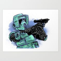 Star+Wars+Art+Print+by+Daniel+Hatcher+-+$15.00