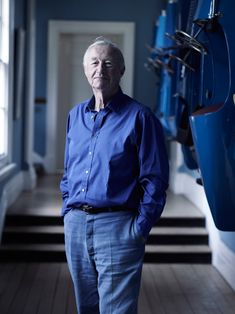 Sir Terence Conran. Check out Brigette's review of Edmund White's Inside A Pearl: My Years In Paris here: http://chaptersandscenes.wordpress.com/2014/08/01/brigette-reviews-inside-a-pear-my-years-in-paris/
