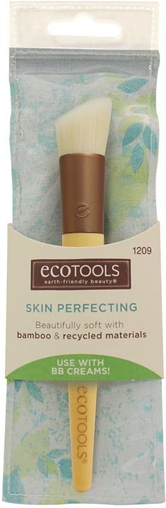 Eco Tools Skin Perfecting Brush Ulta.com - Cosmetics, Fragrance, Salon and Beauty Gifts My favorite make up brushes are Eco tools and real techniques brushes!