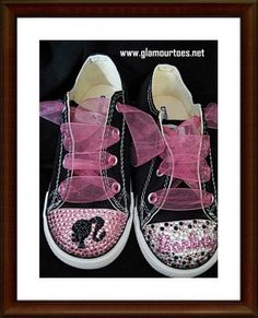 Great shoes to ROCK that Vintage Barbie Tshirt and Tutu party look!