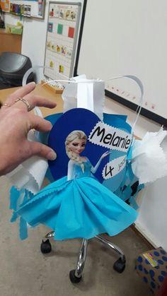 Frozen elsa verjaardagsmuts verjaardaghoed