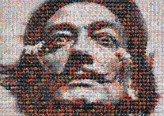 Portraits made from tiny objects by Joe Black | Inspiration Grid | Design Inspiration