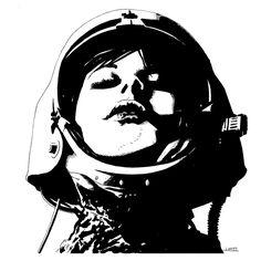 spacegirl by LeonardoMenezes.deviantart.com on @deviantART