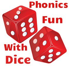 Phonics Fun With Interactive Dice! Add your own words to the faces and roll! Free resource!