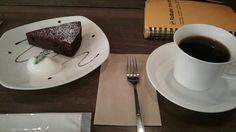リトルフォートコーヒー/クリスマスブレンド、ガトーショコラ(2014/12/18)