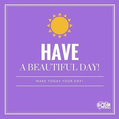 HAVE A BEAUTIFUL DAY!  http://ift.tt/1H6hyQe  Facebook/smpsocialmediamarketing  Twitter @smpsocialmedia