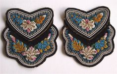 Kanien'kehaka (Mohawk) beadwork bags -- truly exquisite!  Probably mid 19th century