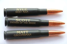 Engraved 50 Cal Bullet Bottle Opener, Groomsmen Gift, 50 Cal Bullet, Beer Bottle Opener, Gift for Groomsman, Personalized Bottle Opener