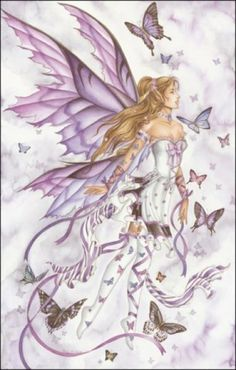 I have a thing about angels and fairies.