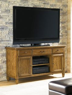 "American Drew Americana Home 54"" Entertainment Unit $945.00"