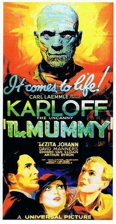 The Mummy (1932) - US Three Sheet (Karoly Grosz)