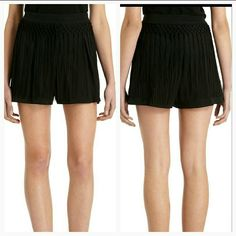 Epazote Fringe shorts by Vena Cava Super stylish and on trend Vena Cava Epazote shorts. Fringe detail in on trend for 2016.  New with tags attached. Size 2.  Jet black color 100% silk   Thank you so much for visiting my closet, should you have any questions, please don't hesitate to ask! Happy shopping! Vena Cava Shorts