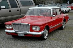 1962 Plymouth Valiant. I had one, liked it a bunch. The big slant 6 in this would FLY.