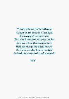 Poems of unspoken love