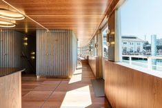 The ship, originally built in the has long served as a scheduled-service and excursion vessel for the Lake Constance Shipping Company. Fritz, Boat Design, Restaurant, Garage Doors, Stairs, Building, Outdoor Decor, Room, Furniture