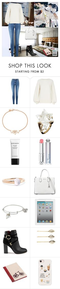 """""""Classy And Comfort"""" by oksana-kolesnyk ❤ liked on Polyvore featuring Topshop, Helmut Lang, Shaun Leane, Tessa Packard, Givenchy, Christian Dior, Pomellato, MICHAEL Michael Kors, Alex and Ani and Tela Beauty Organics"""