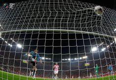 Jesus Navas scores and Croatia goes home. Croatia vs. Spain 0:1